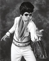 Billy as Elvis